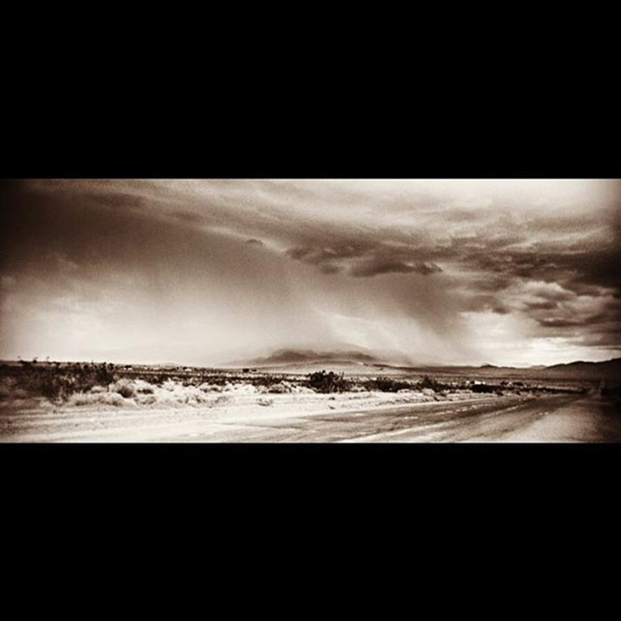 Picture Photograph - #desert #rain #storm In Southern by Alex Snay