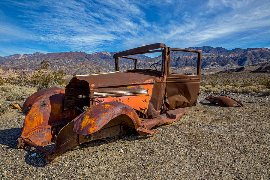 Abandoned Photograph - Desert Relic by Peter Tellone