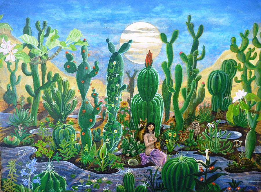 Desert Reprieve Painting by Peter Rodulfo