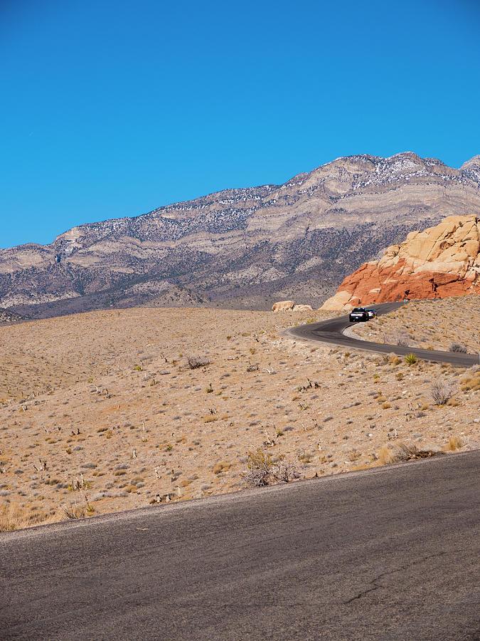America Photograph - Desert Road by Rae Tucker