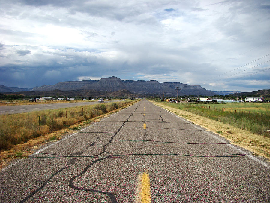 Landscape Photograph - Desert Road by Todd Zabel