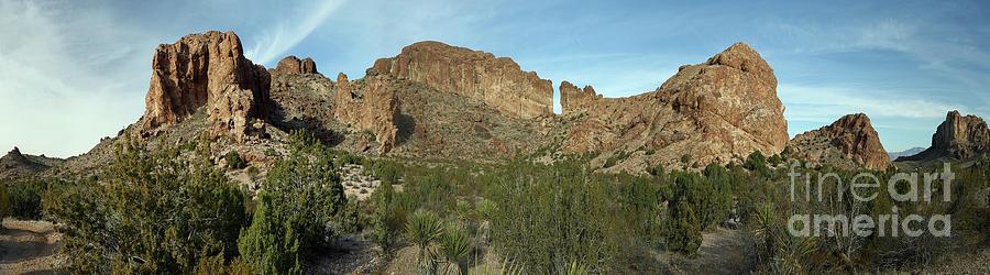 Nature Photograph - Desert Rocks by Rick Mann
