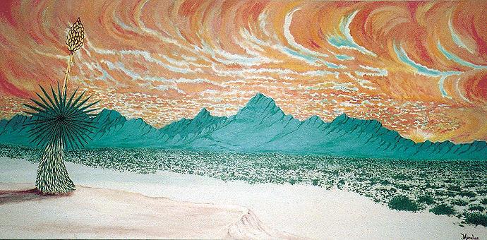 Desertscape Painting - Desert Splendor by Marco Morales