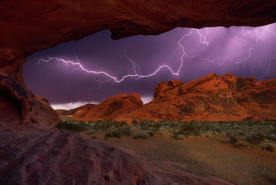 Desert Storm Photograph