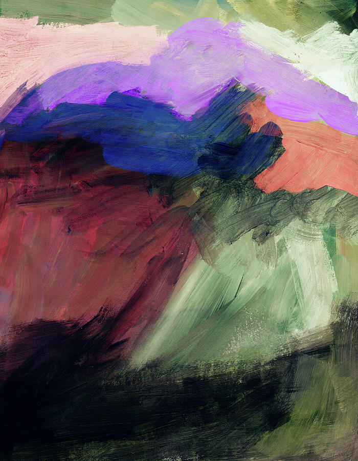 Abstract Painting Painting - Desert Sunset 1- Art By Linda Woods by Linda Woods