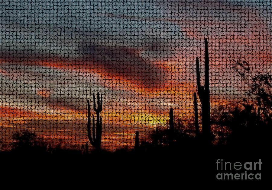 Desert Sunset Photograph