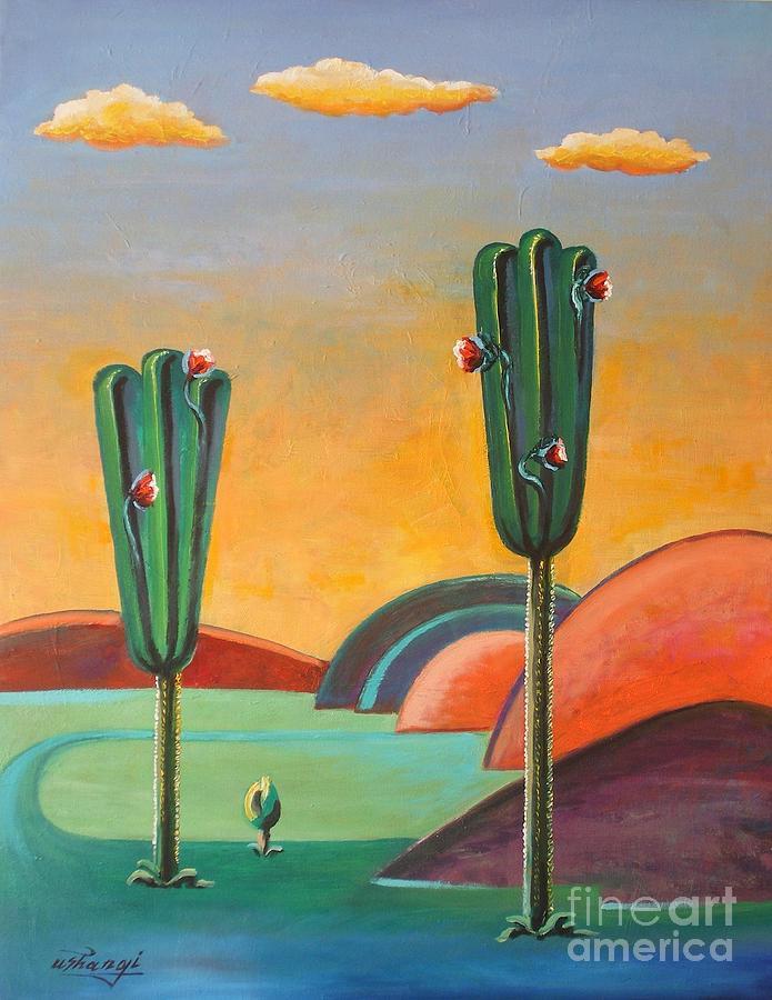 Desert by Ushangi Kumelashvili