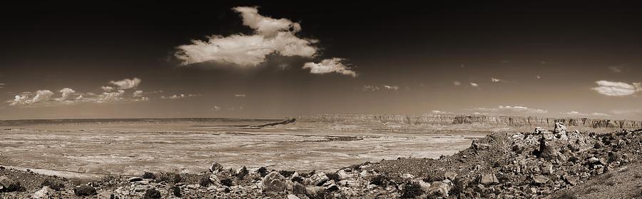 Landscape Photograph - Desert View - Northern Arizona by Bob Coates