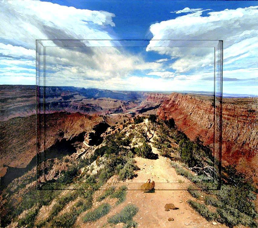 Grand Photograph - Desert View by Michael Albin