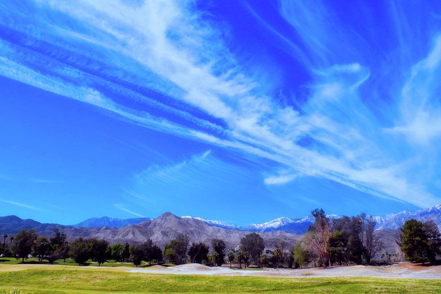 Desert Photograph - Desert Winter Sky by Kirsten Giving