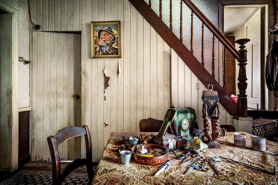 Deserted Room In Abandoned House -urben Exploration ...