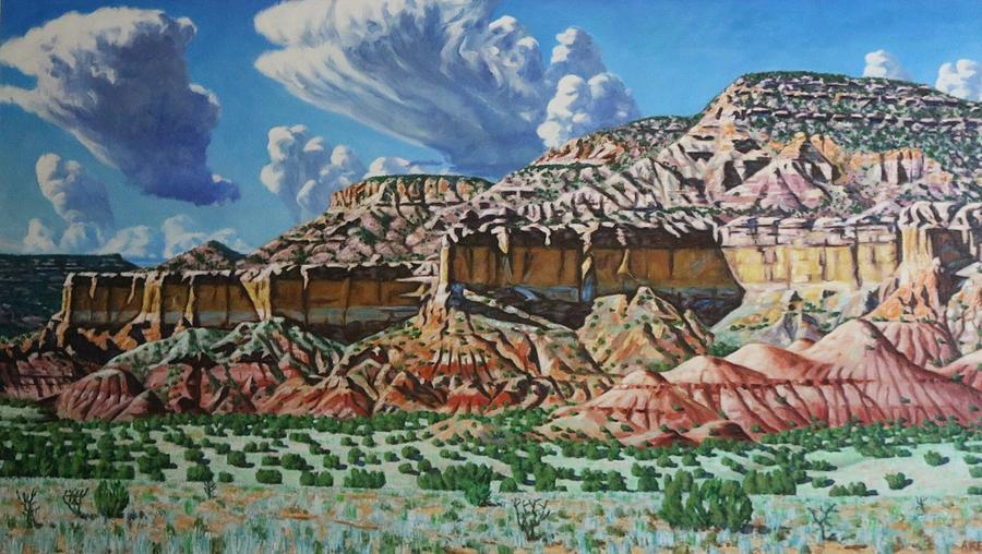 Landscape Painting - Ghost Ranch New Mexico by Allen Kerns