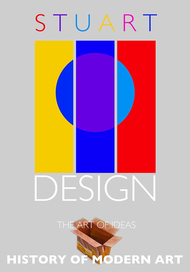 De Stijl Painting - Design Poster by Charles Stuart