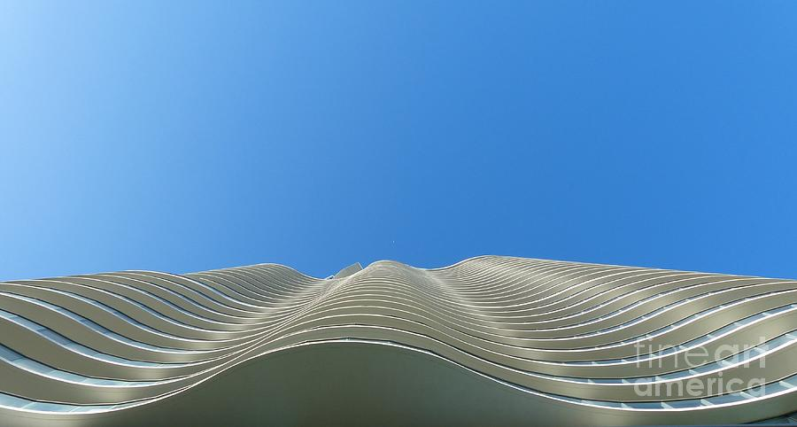 Architecture Photograph - Designer Waves by Carlos Amaro