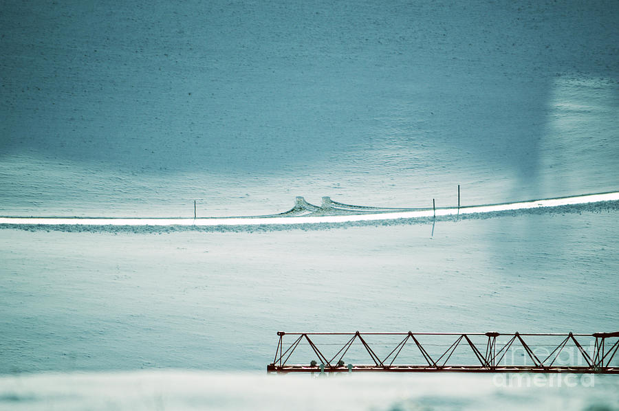 Designs And Lines - Winter In Switzerland Photograph
