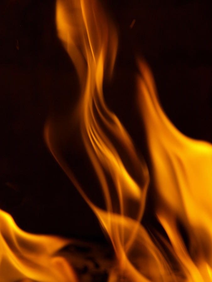 Flame Photograph - Desire by Randall Slinkard
