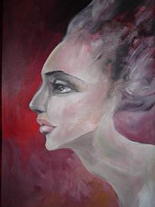 Female Face Painting - Desire by Sona  Yeghiazaryan