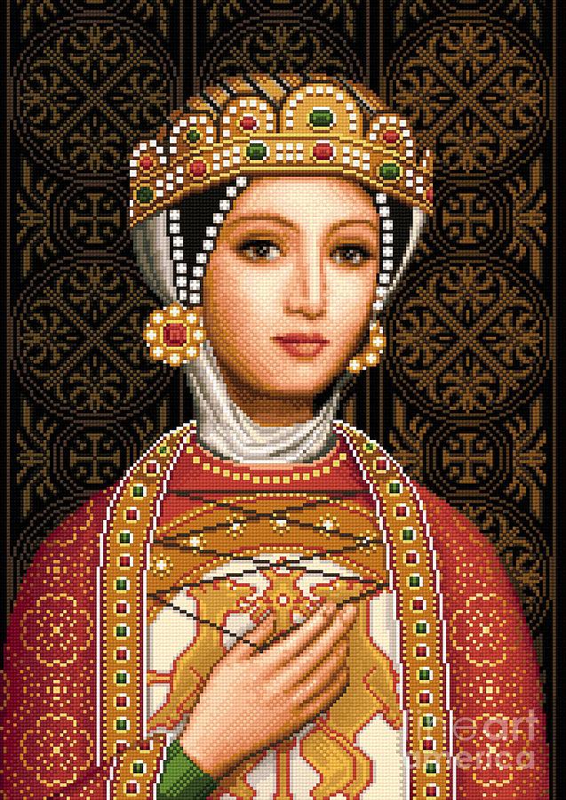 Desislava Tapestry - Textile - Desislava by Stoyanka Ivanova
