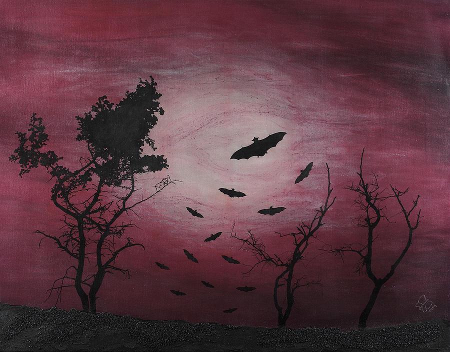 Landscape Mixed Media - Desolate by Arnuda