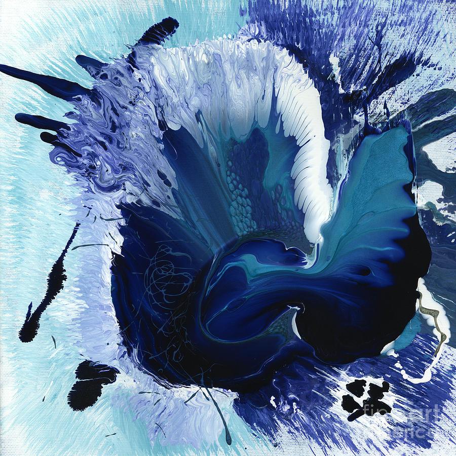 Indigo Mixed Media - Desolate Detonation by Terry McConnell