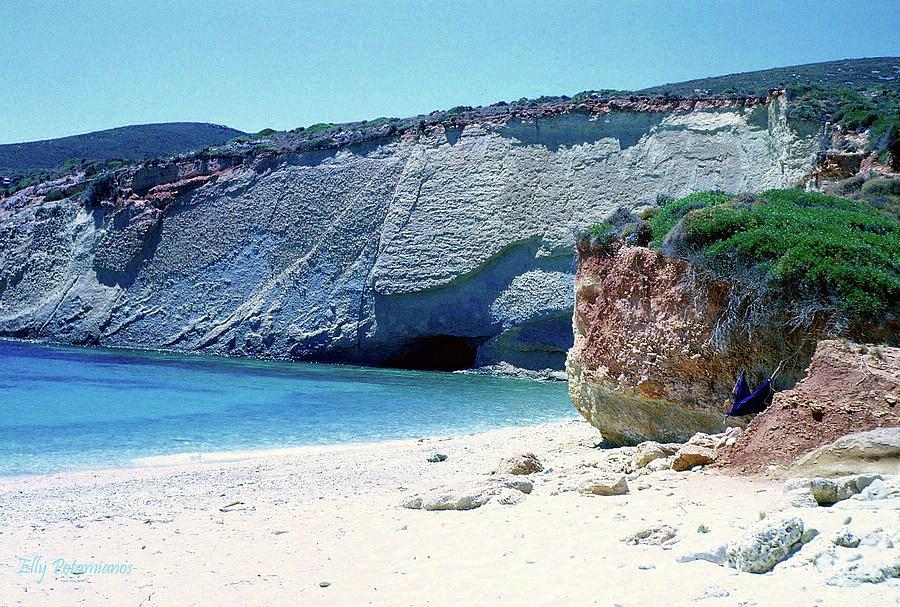Desolated Island Beach by Elly Potamianos