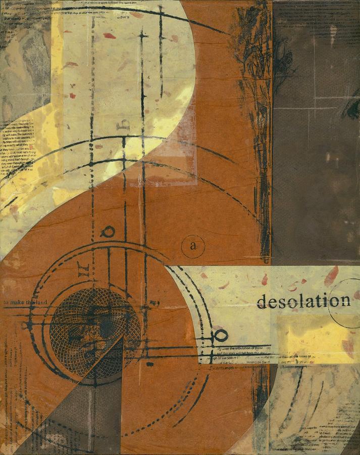 Desolation Mixed Media - Desolation II by Ashley Cameron