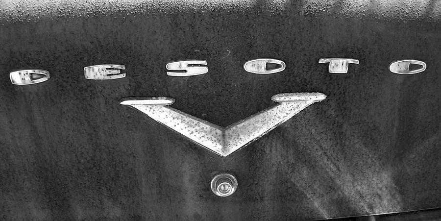 Car Photograph - Desoto 2 by Audrey Venute