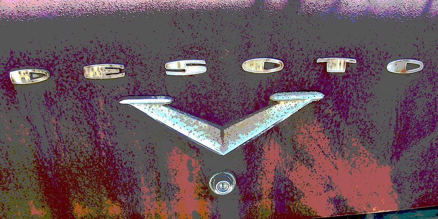 Car Photograph - Desoto by Audrey Venute