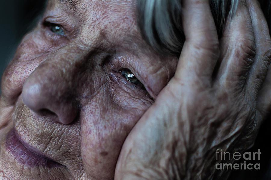 Sad Photograph - Despair by Chenique Slier