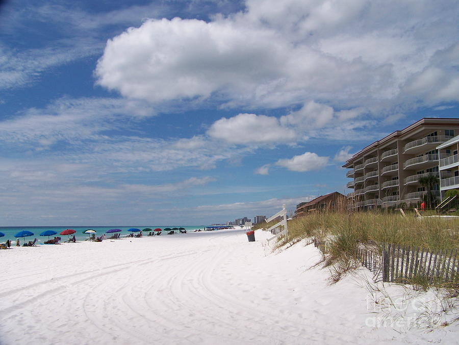 Destin Beach Photograph - Destin Beach by Kevin Croitz