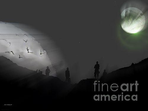 Eclipse Photograph - Destiny Eclipse by Jason Christopher