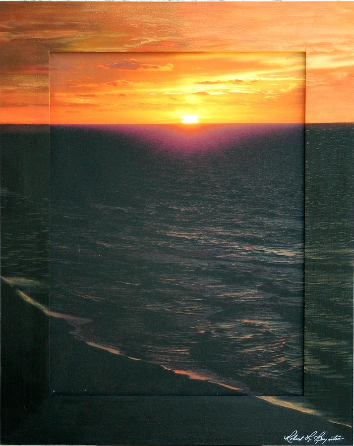 Beach Mixed Media - Destiny Sunrise by Robert Boynton