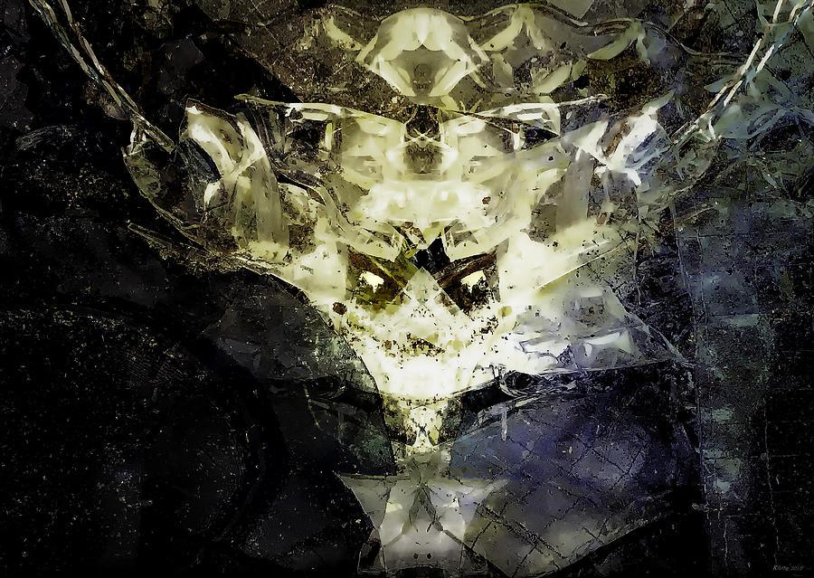 Abstract Digital Art - Destroyer of Albums by Ole Klintebaek