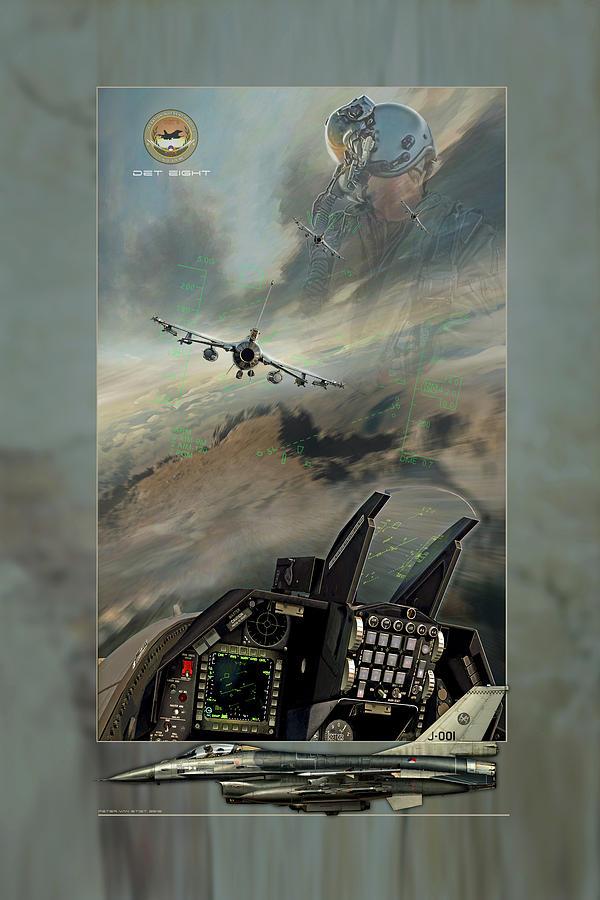 War Digital Art - Det Eight by Peter Van Stigt