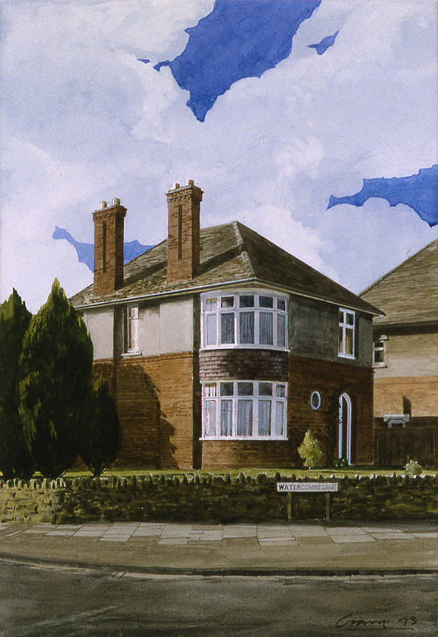 Landscape Painting - Detached by Andrew Crane