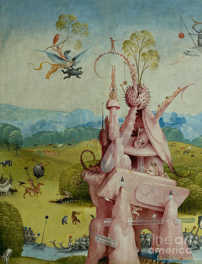 Detail Of Central Panel The Garden Of Earthly Delights