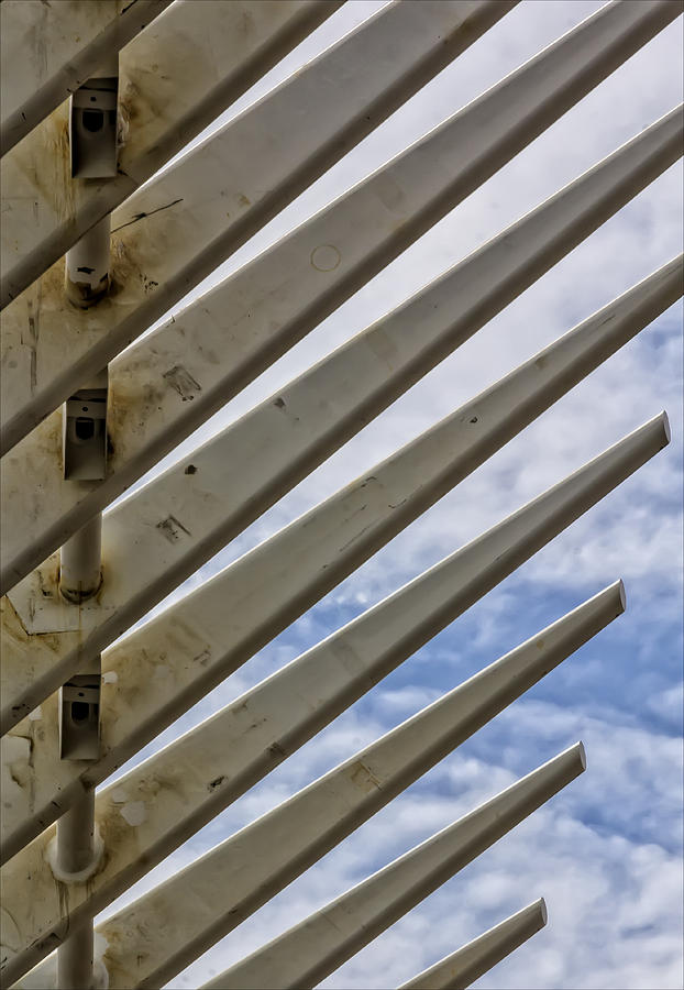 Construction Photograph - Detail Of Construction by Robert Ullmann