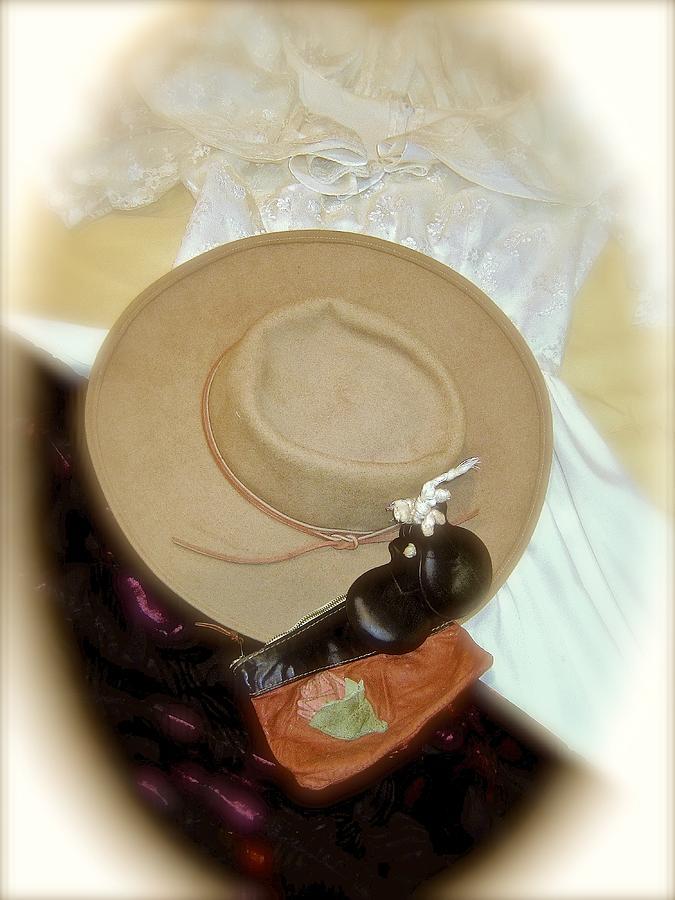 Shawl Photograph - Detail Of Dress Rehearsal by Elizabeth Tillar