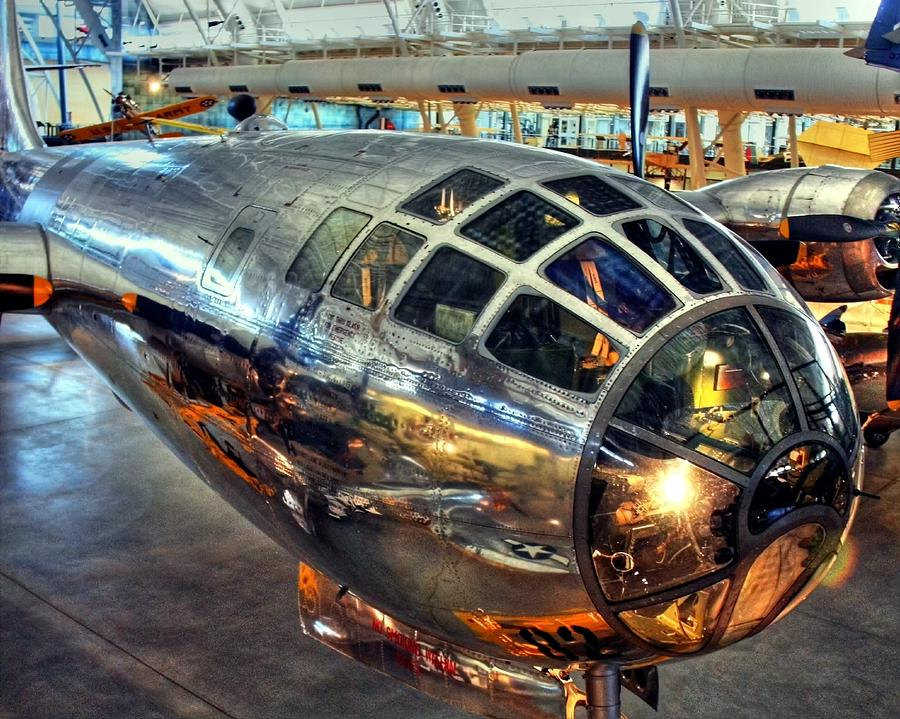Enola Gay Photograph - Deter It by Mitch Cat