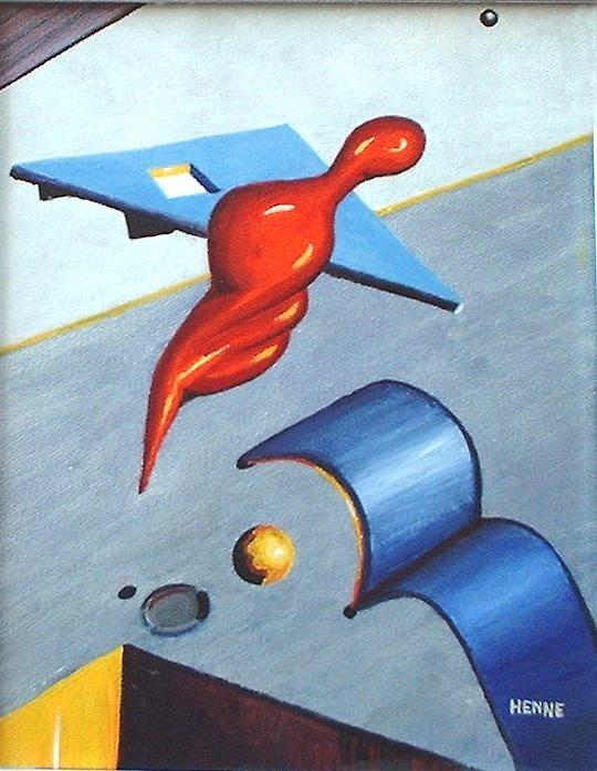 Determination Painting by Robert Henne