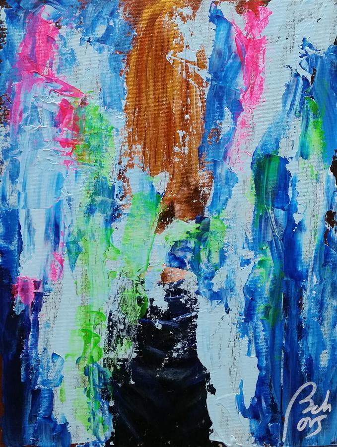 Detritus II Woman back by Bachmors Artist