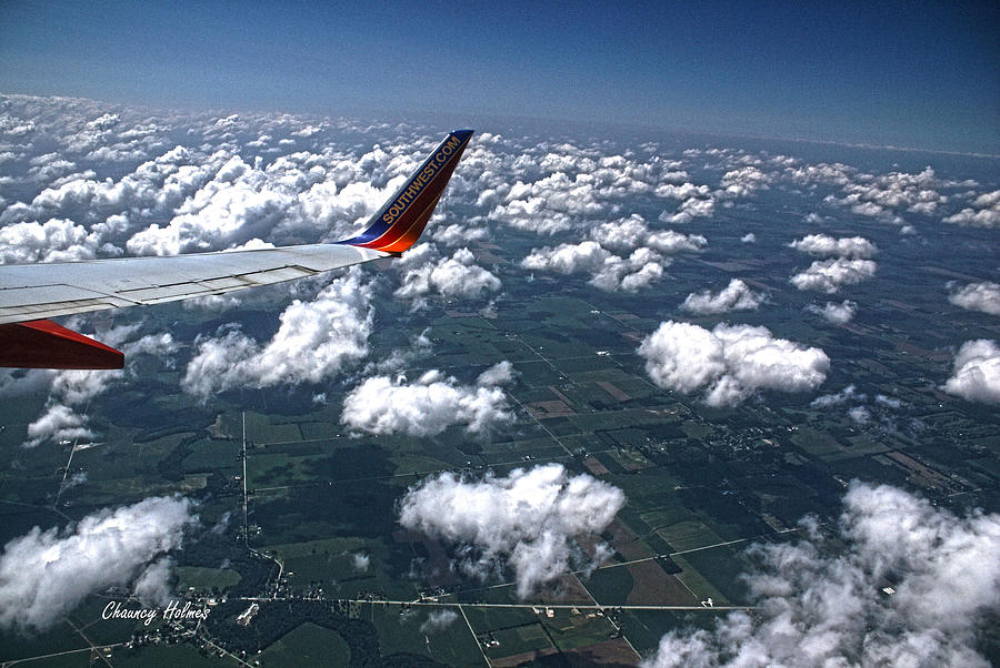 Plane Photograph - South Carolina by Chauncy Holmes