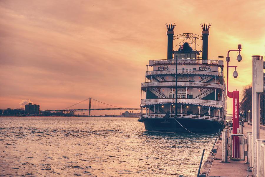 Detroit River Photograph
