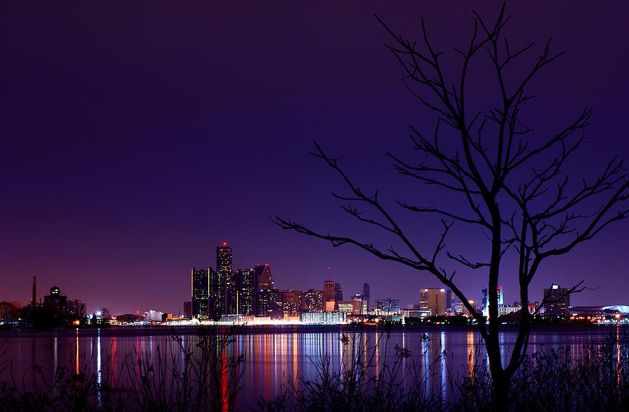 Detroit Photograph - Detroit Skyline by Cale Best