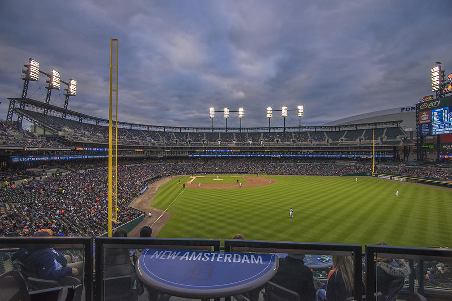 Detroit Tigers Comerica Park Right Field View 1 Photograph