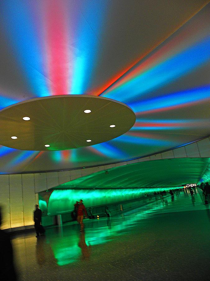 Airport Photograph - Detroit Travelers I by Elizabeth Hoskinson