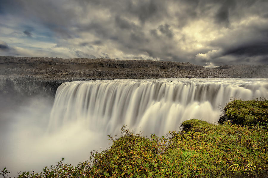 Dettifoss Before the Storm by Rikk Flohr