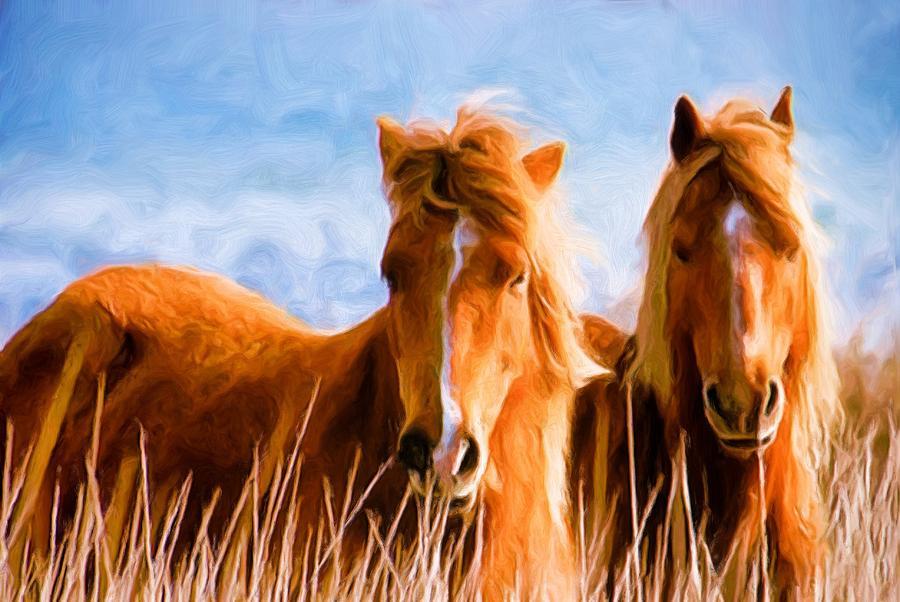 Deuces Wild Painting - Deuces Wild by Steven Richardson