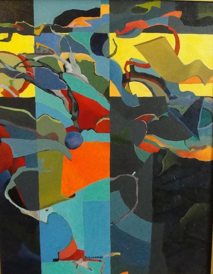 Caribbean Blue by Bernard Goodman
