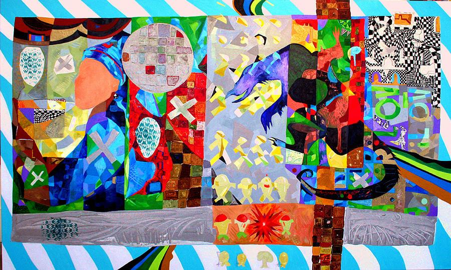 Colors Painting - Developments by Aleksandar Kirilov